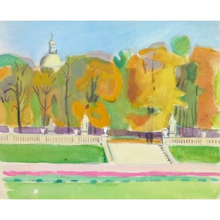 Madeleine Scali, Jardins Du Luxembourg, Paris For Sale
