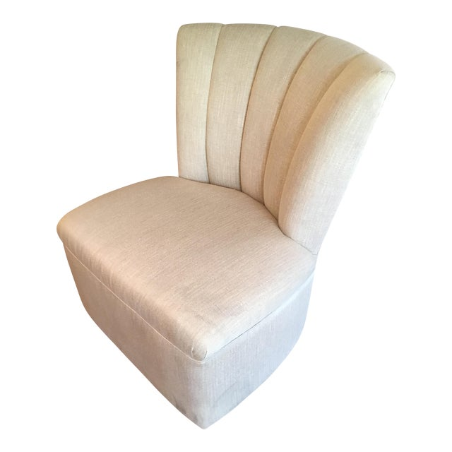 Channel Back Swivel Chair - Image 1 of 3