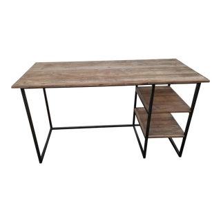 Restoration Hardware Rustic Fulton Desk For Sale