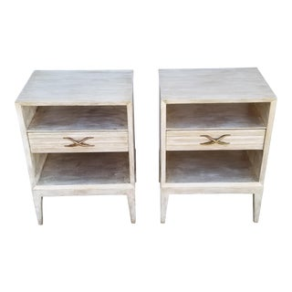 1940s Danish Modern Paul Frankl Night Stands - a Pair For Sale