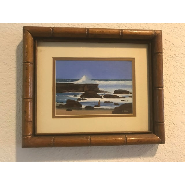 Impressionism Signed Patrick Doell The North Shore Painting For Sale - Image 3 of 5