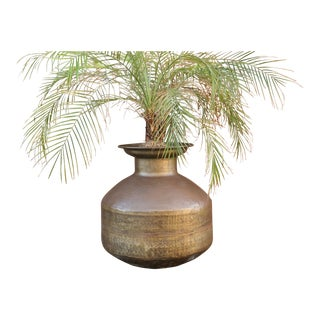 Antique Brass Surahi Water Pot For Sale