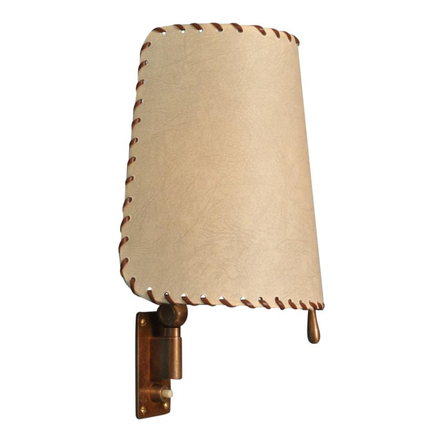 Alfred Muller Wall Lamp, Switzerland 1940s For Sale