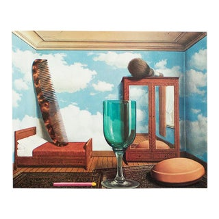 """1972 Rene Magritte, """"Personal Values"""" Original Photogravure For Sale"""