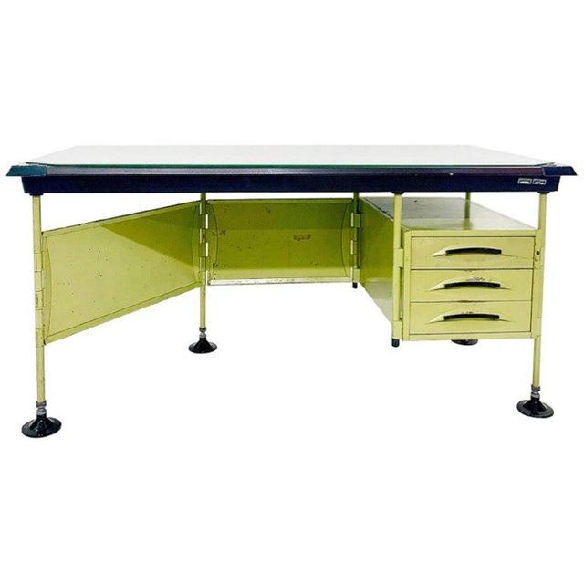Italian Modernist Spazio Desk by Studio Bbpr for Olivetti - 1959 For Sale - Image 9 of 9