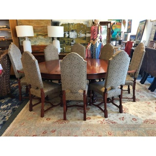 Jacobean Table + Eight Chairs Set Preview