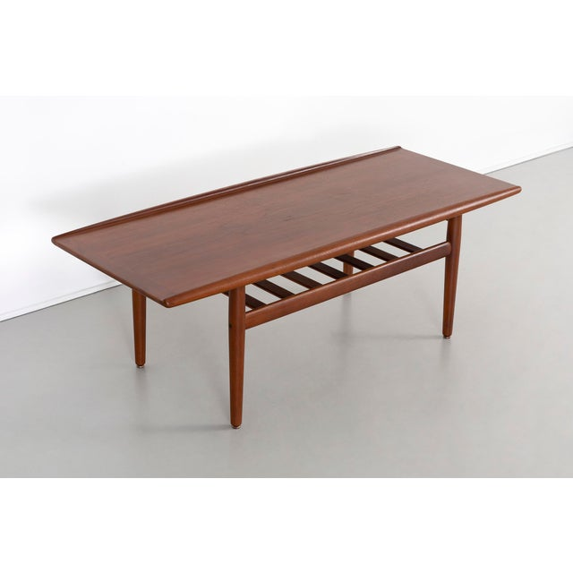 Danish Modern Grete Jalk Coffee Table For Sale - Image 3 of 9
