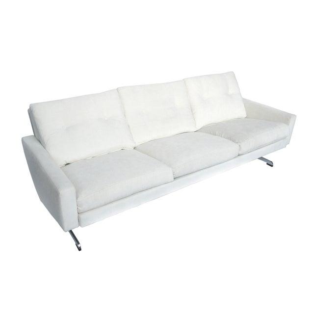 White Danish Modern Sofa by Johannes Andersen - Image 2 of 10