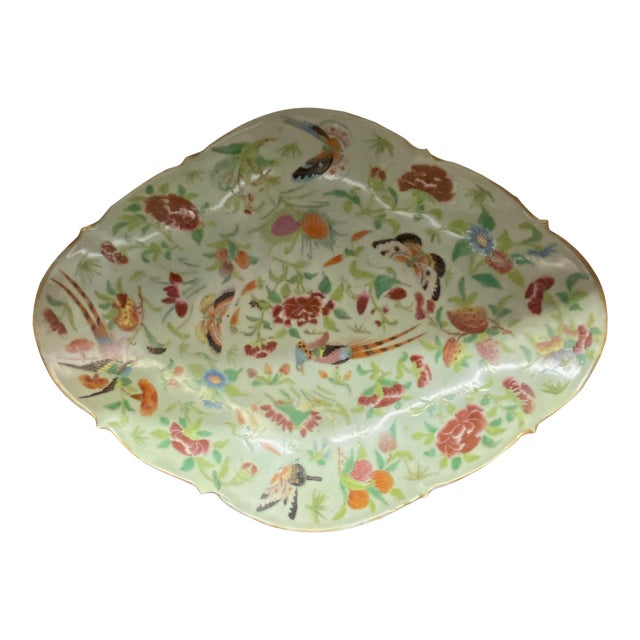 Antique Celadon Sweet Meat Bowl For Sale