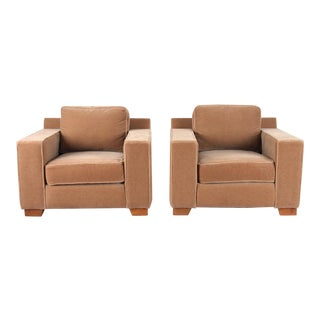 Thayer Coggin Club Chairs - A Pair