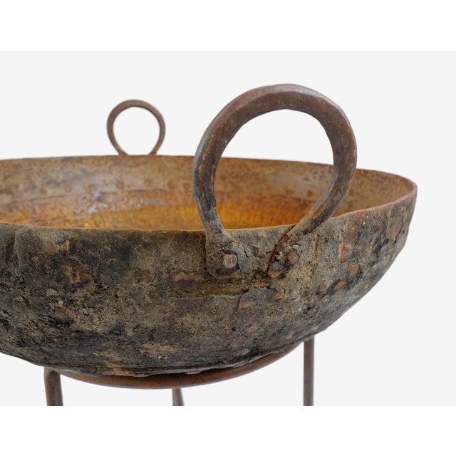 "Iron Kadai Bowl 22""-24"" For Sale - Image 4 of 5"