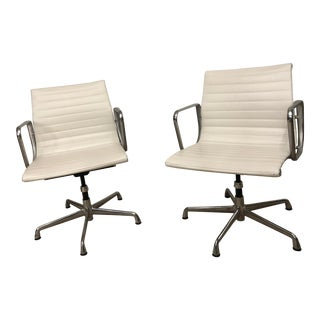 Eames Aluminum Group Management Chairs- a Pair For Sale