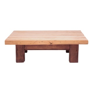 Low Plank Top Plains Table For Sale