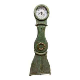 Mid 19th Century Original Painted Swedish Mora Clock For Sale