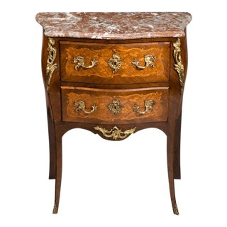 A 19th Century Inlaid Commode, Circa 1850 For Sale