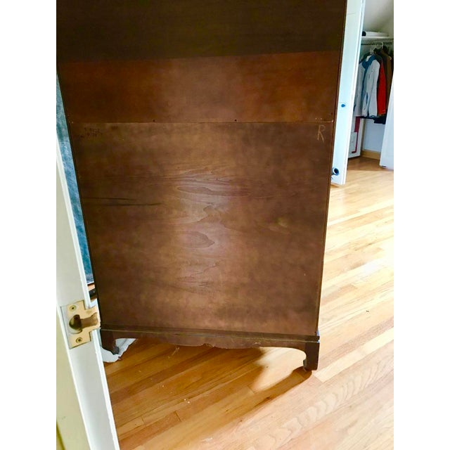 Henredon Tansu Collection Armoire Wardrobe For Sale - Image 10 of 13