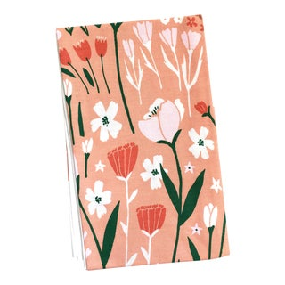 Poppy Floral Tea Towel
