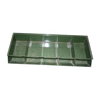 Green Metal Industrial Bin