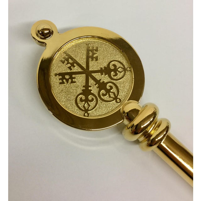 Swiss Bank Golden Key Letter Opener - Image 2 of 11