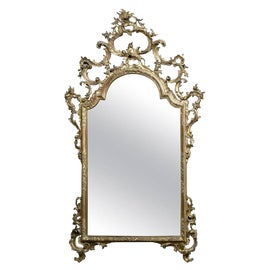 Image of Baroque Mantel and Fireplace Mirrors