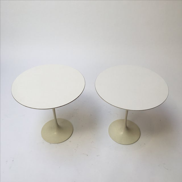 1st Edition Tulip Side Tables - Pair - Image 8 of 11