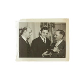 Vintage Russell Birdwell Photograph of David Selznick For Sale