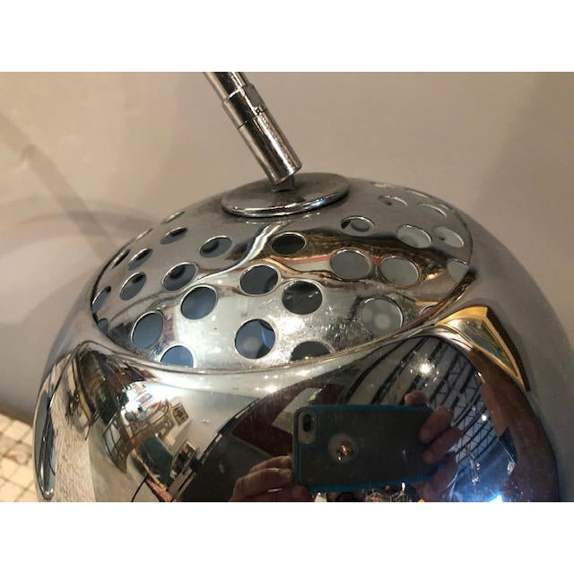 Sonneman Lighting Mod Chrome Arc Modern Desk Lamp For Sale - Image 4 of 9