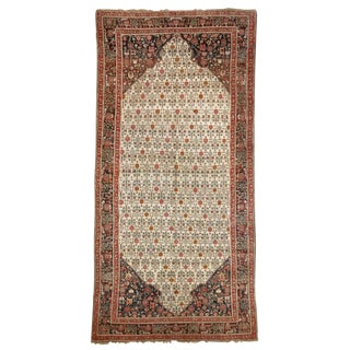 19th Century Agra Carpet - 6′ × 12′7″ For Sale