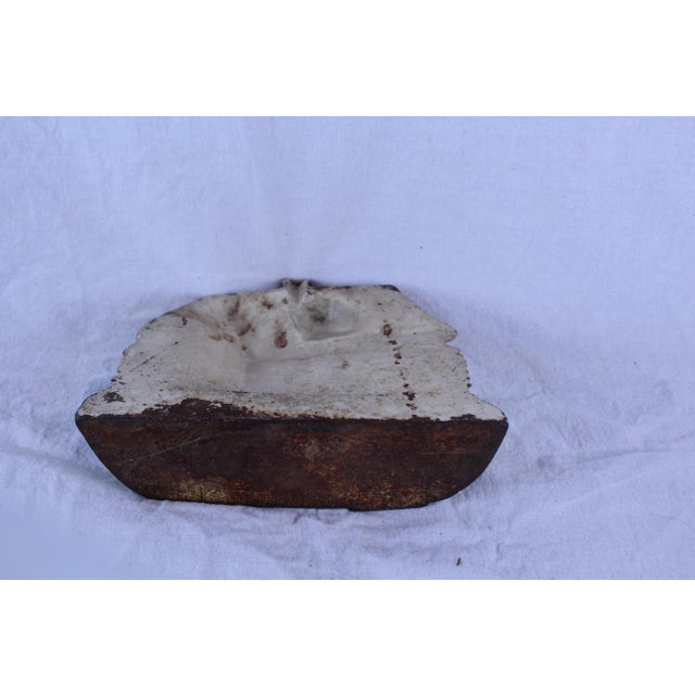 Shabby Chic 1950s Vintage Shabby Chic Doorstop For Sale - Image 3 of 6