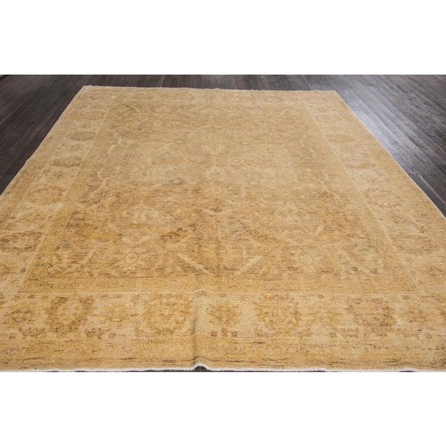 "Traditional Apadana Peshawar Rug - 8'1"" x 10'5"" For Sale - Image 3 of 6"