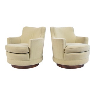 Edward Wormley Swivel Chairs For Sale
