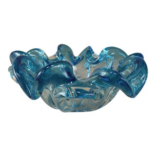 Mid-Century Italian Murano Glass Bowl For Sale