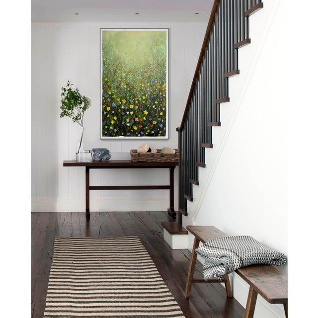 """Flowerfield Three"" Painting - Image 3 of 8"
