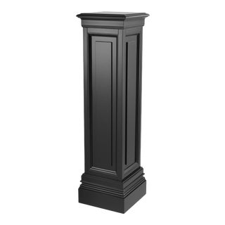 Black Wooden Column - L | Eichholtz Salvatore For Sale