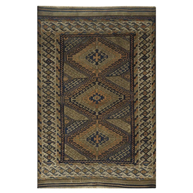 Antique Persian Balouch Rug - 3' x 5' - Image 1 of 4