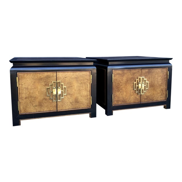 Century Furniture Chinoiserie End Tables-A Pair - Image 1 of 11
