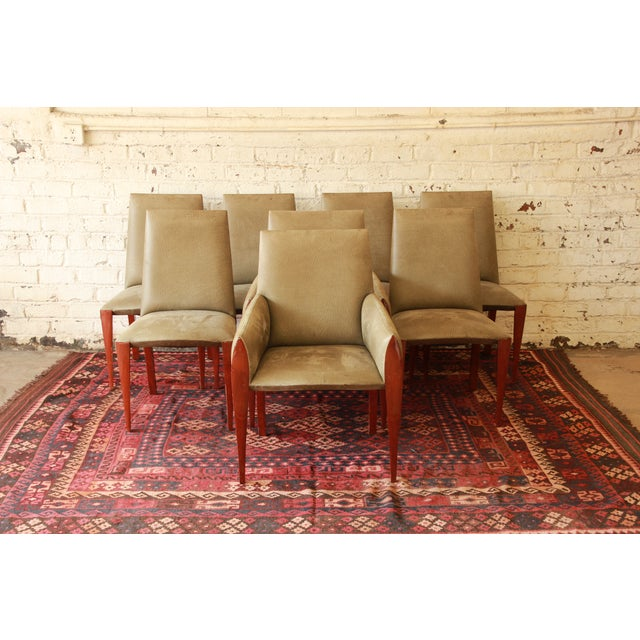 Dakota Jackson Ke-Zu Dining Chairs - Set of 8 - Image 2 of 10