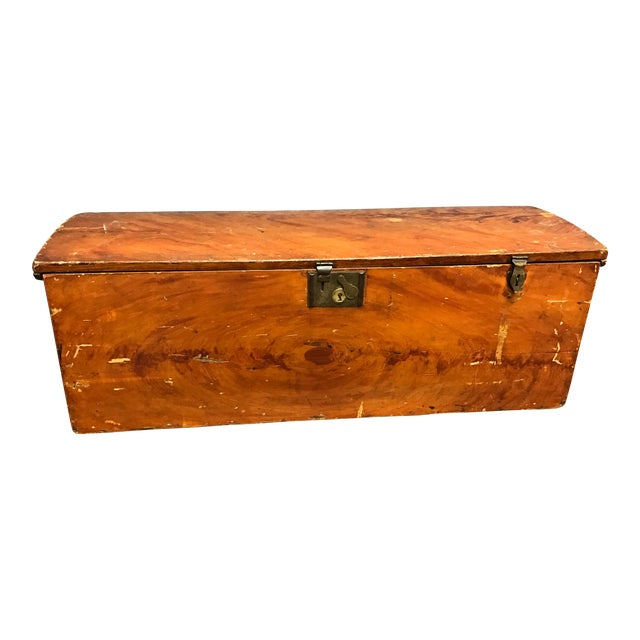 French Barrel Top Chest For Sale