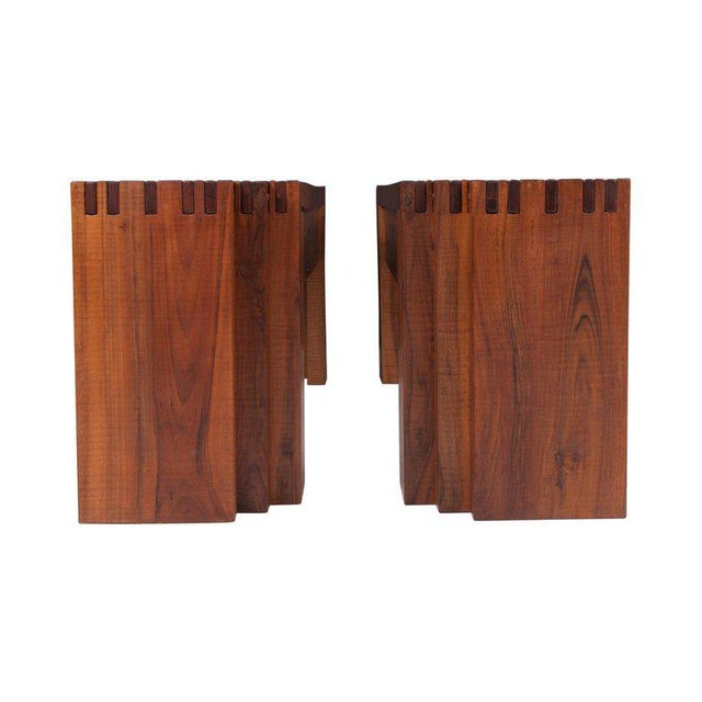 Rivadossi Hardwood Dining or Console Table For Sale - Image 9 of 13