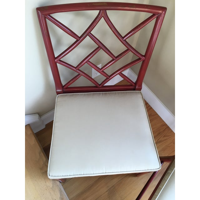 Hickory Chair Fretwork James River Side Chairs - A Pair - Image 7 of 10