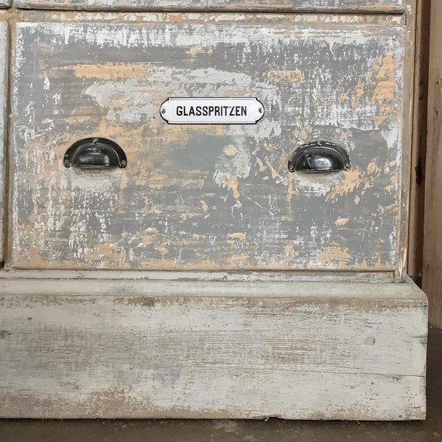 Grand 19th Century Apothecary Store Counter For Sale - Image 12 of 13