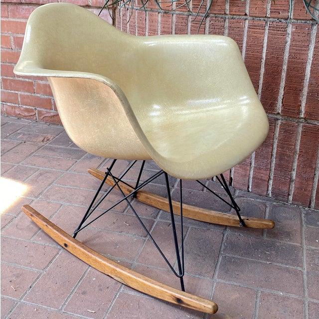 1950s Eames Herman Miller Zenith Rocker For Sale - Image 13 of 13