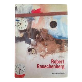 Robert Rauschenberg Rare 1st Edition Vintage 1999 Collector's Pop Art Monograph Hardcover Art Book For Sale