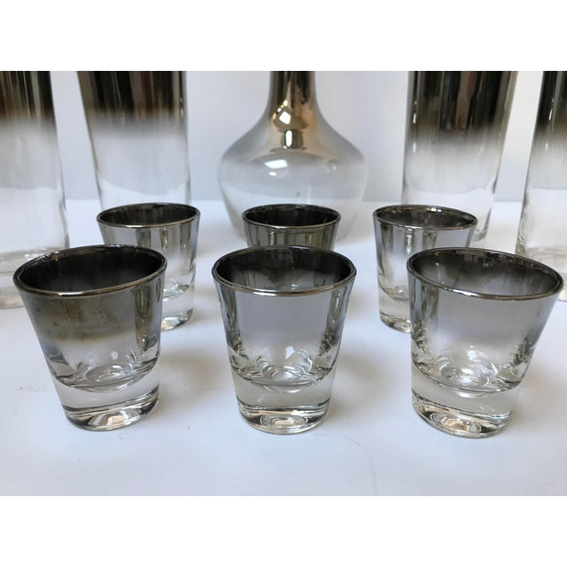 Dorothy Thorpe Style Glasses, Decanter & Shot Glasses - Set of 13 - Image 6 of 6