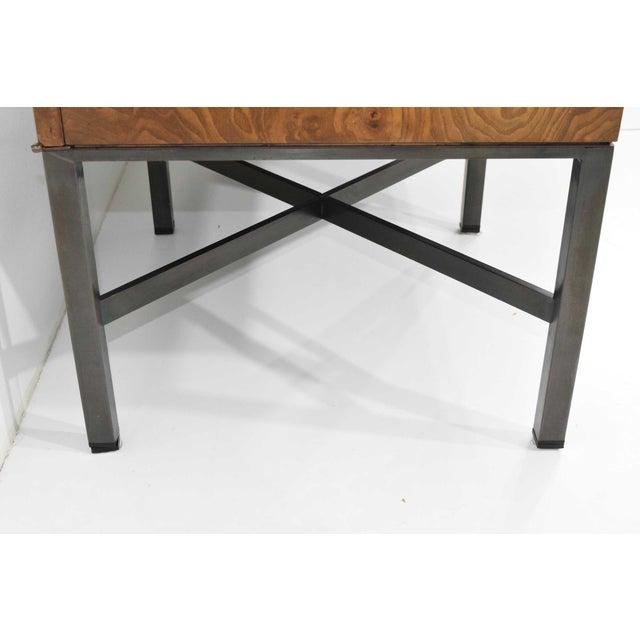 Roger Sprunger for Dunbar Burled Olivewood Sideboard or Credenza For Sale - Image 9 of 13