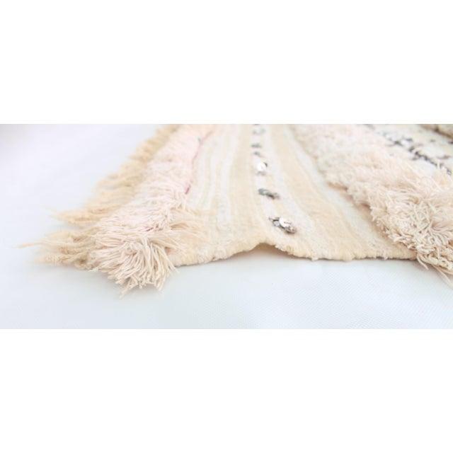 Vintage Handira Wedding Blanket - Image 4 of 5