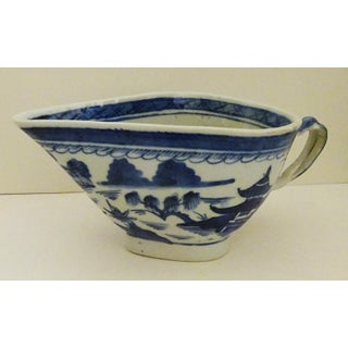 19th Century Antique Canton Sauce Boat Preview