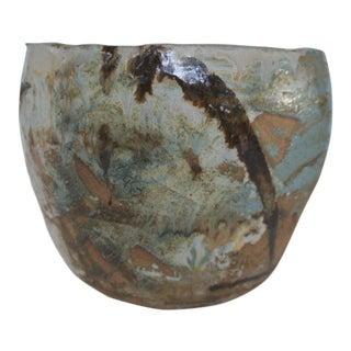 Japanese Art Pottery Garden Planter For Sale