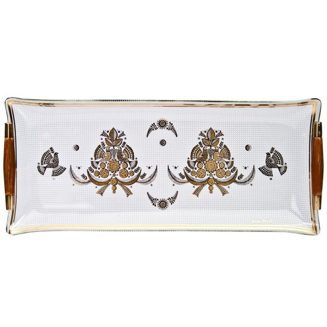 Mid-Century Georges Briard Serving Tray For Sale