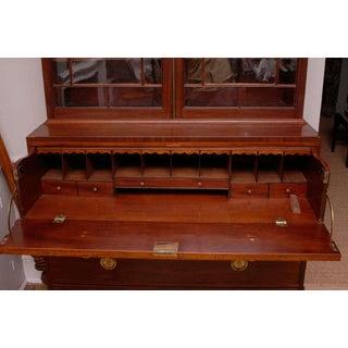 George III Mahogany Secretary Bookcase Preview
